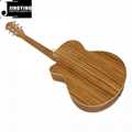 40 Inch Zebrano Material Acoustic Guitars