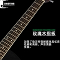 Wholesale 40 Inch Five Color Lack of Angle Acoustic Guitars