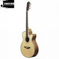 40 Inch Acoustic Guitars with 5 Band LCD EQ
