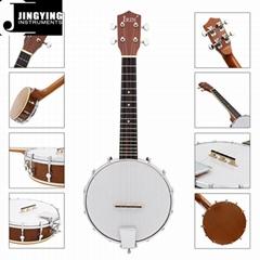 4 Strings Sapelli Banjo