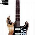 Wholesale ST Style Heavy relic Custom SRV Electric Guitars