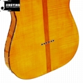 Wholesale Flamed Maple Veneer T L Style Electric Guitars