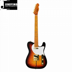 Wholesale T L Style Gold Hardware and Set-in Neck Electric Guitars