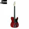 New T L Style Mahogany Body with Flamed Maple Big Rocker Electric Guitars