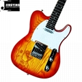 Wholesale Best Selling Products T L Style Ash Wood Body Electric Guitars