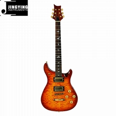 Mahogany Body with Water Ripple Vineer PRS Electric Guitars
