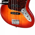 Wholesale Factory Direct Sale  4 Strings Jazz Bass Guitars