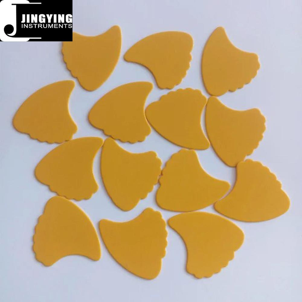 Wholesale China Made Custom Celluloid Special-shaped Guitar Picks 7