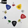 Wholesale China Made Celluloid/ABS/Nylon/PVC Guitar Picks with Custom Logo 5