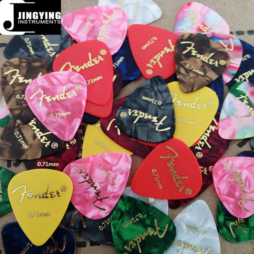 Wholesale China Made Celluloid/ABS/Nylon/PVC Guitar Picks with Custom Logo 1