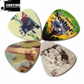 Wholesale China Made Colour Printed Guitar Picks
