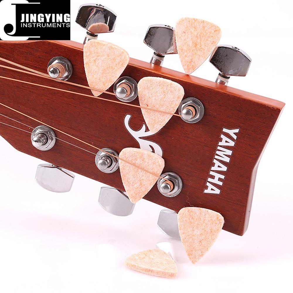Wholesale China Made Woollen Felt Guitar/Ukulele Picks 14