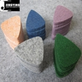 Wholesale China Made Woollen Felt Guitar/Ukulele Picks 12