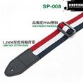 Wholesale China Made 1.3M Length Color Mesh Terylene Guitar Straps