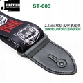 1.5M Length Thermal Transfer Pattern Thickened Leather Heads Folk Guitar Straps 6