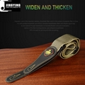 Wholesale 1.5M Length Microfiber Leather Polyester Cotton Guitar Straps