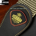 Wholesale 1.5M Length Microfiber Leather Polyester Cotton Guitar Straps 6
