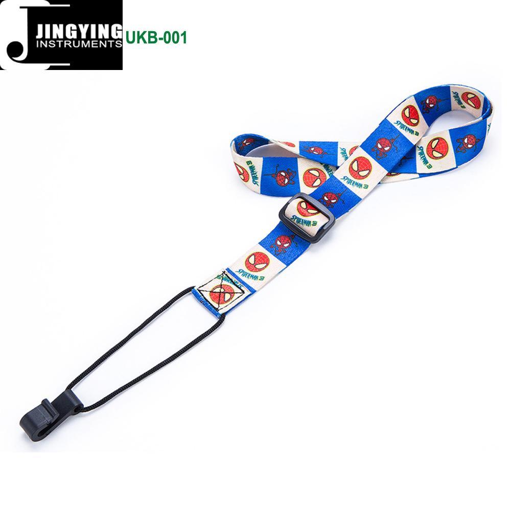 1.0M Length 1.2mm Thick Thermal Transfer Ribbon Ukulele Neck Straps 2