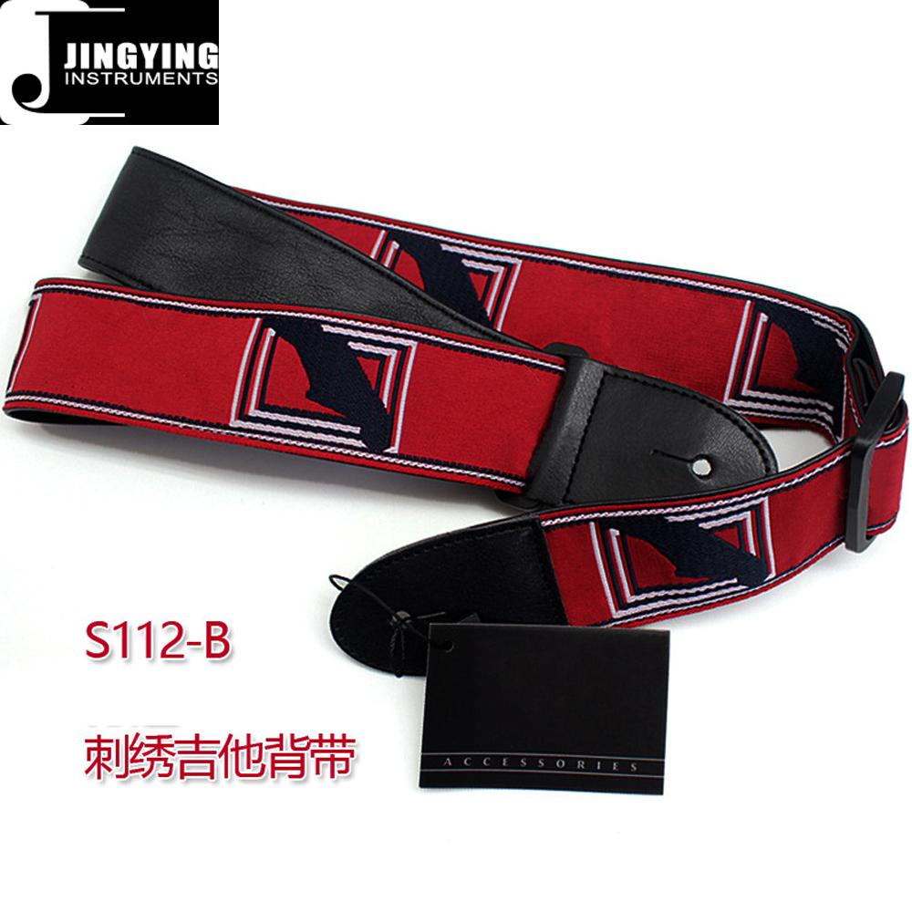 Fender Style 137X5CM Jacquard Ribbon Embroidered Guitar Straps 3