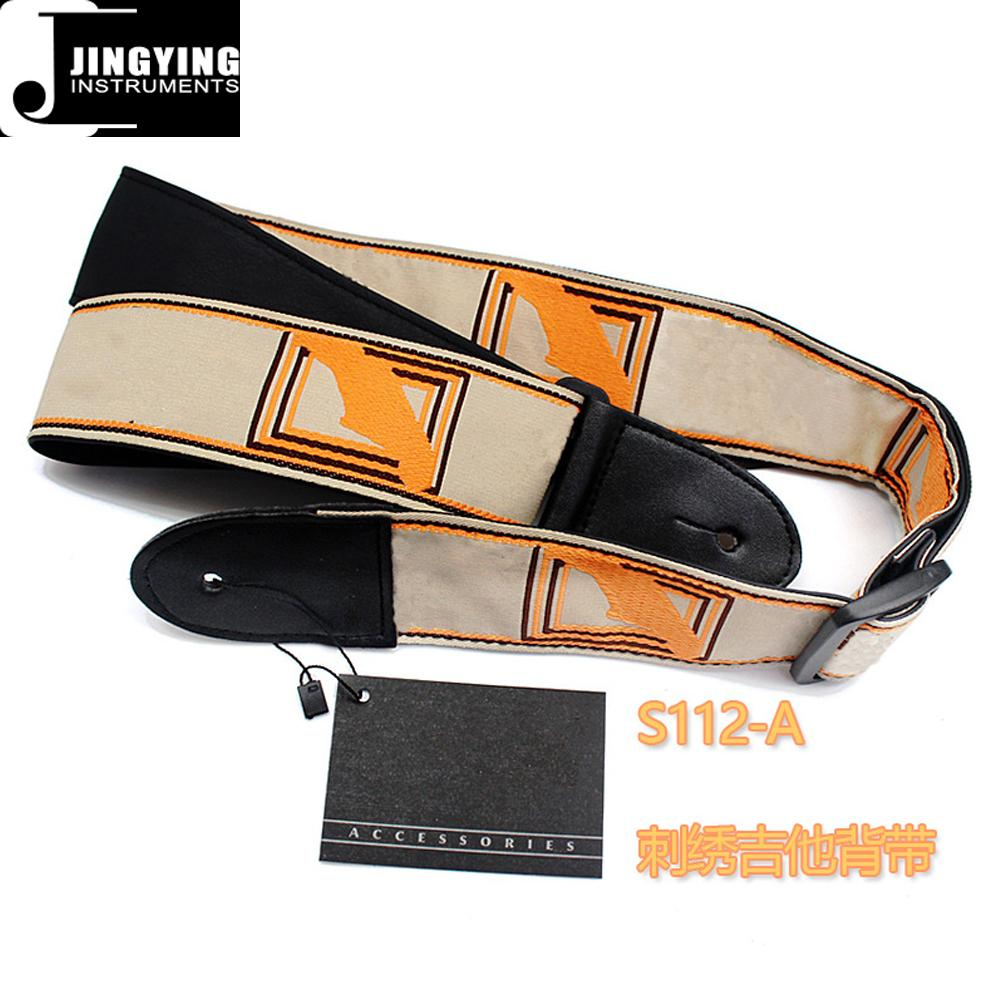 Fender Style 137X5CM Jacquard Ribbon Embroidered Guitar Straps 2