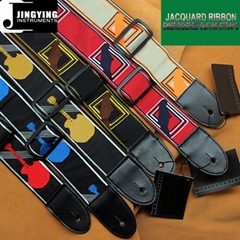 Fender Style 137X5CM Jacquard Ribbon Embroidered Guitar Straps