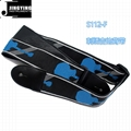 Fender Style 137X5CM Jacquard Ribbon Embroidered Guitar Straps 7