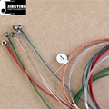 Phosphor Bronze Material The Round Wound Colorful Acoustic Guitar Strings
