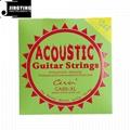 Inner Hexagon Steel Core 80/20 Phosphor Bronze Wound Acoustic Guitar Strings 5