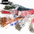 Wholesale Steel Material Colorful Loose Acoustic Guitar Strings