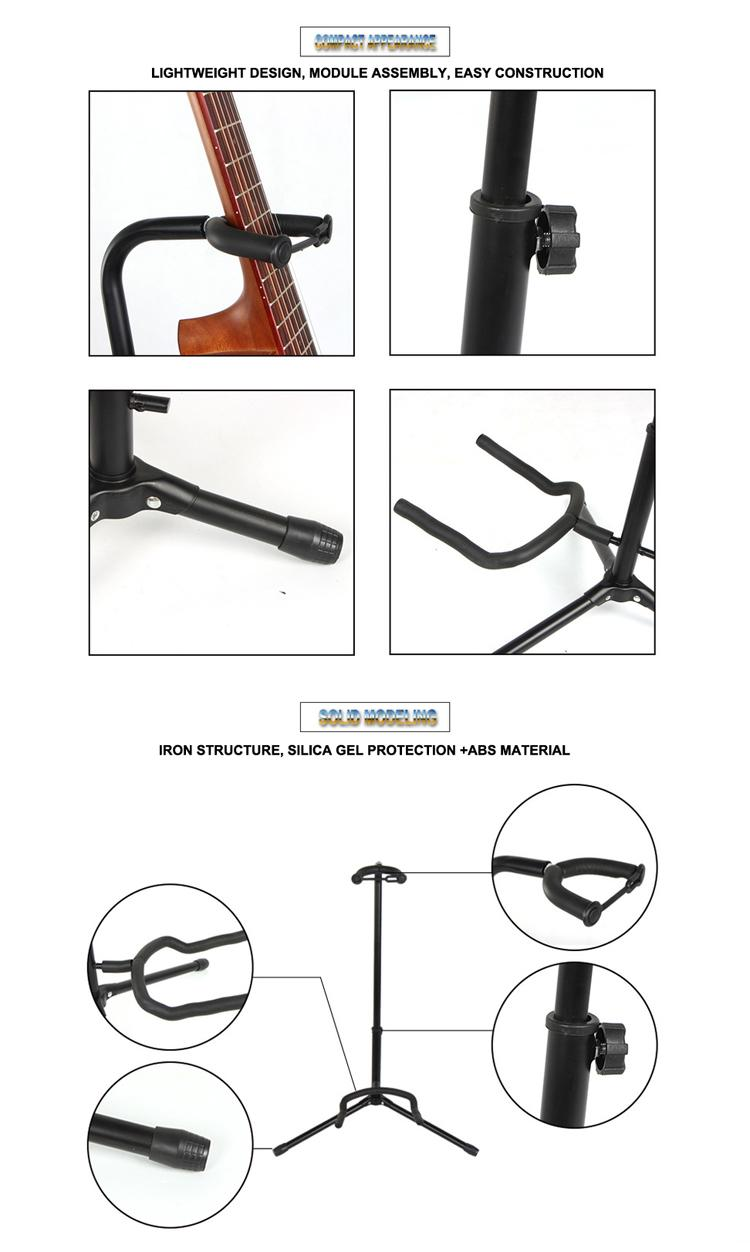 Wholesale Vertical Single Head Electric&Bass&Classic Guitar Stands 8
