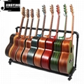Wholesale Multi-head(3/5/7/9 Heads)Acoustic&Classic&Electric Guitar Display Rack 11