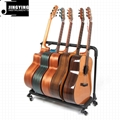 Wholesale Multi-head(3/5/7/9 Heads)Acoustic&Classic&Electric Guitar Display Rack 5