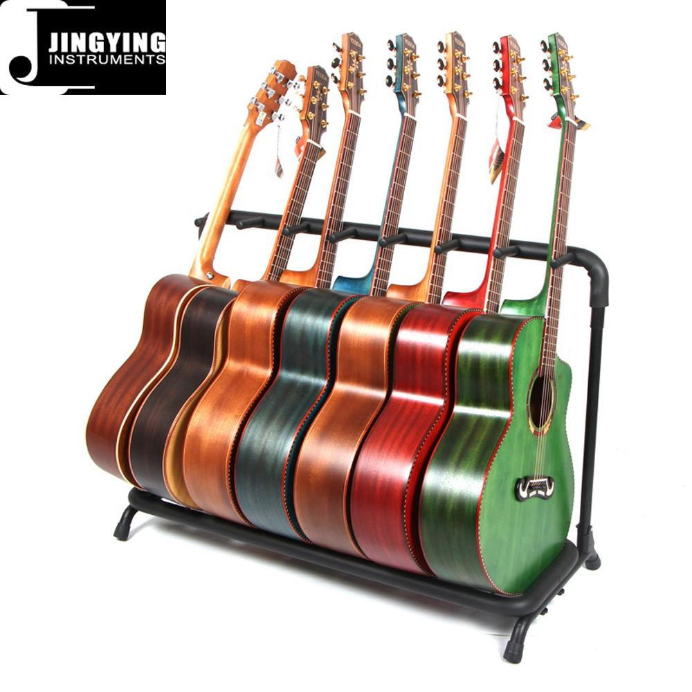 Wholesale Multi-head(3/5/7/9 Heads)Acoustic&Classic&Electric Guitar Display Rack 6