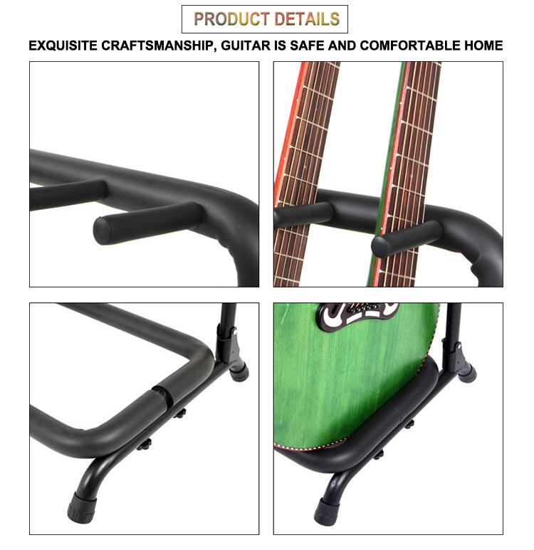 Wholesale Multi-head(3/5/7/9 Heads)Acoustic&Classic&Electric Guitar Display Rack 9