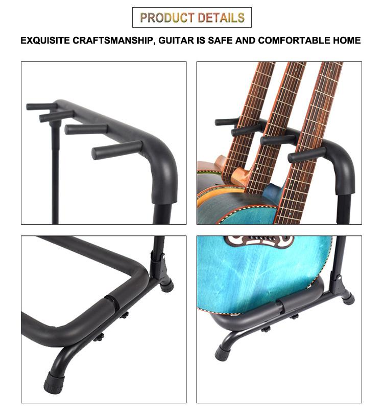 Wholesale Multi-head(3/5/7/9 Heads)Acoustic&Classic&Electric Guitar Display Rack 14