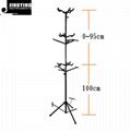 Wholesale Vertical Multi-head Violin&Ukulele&Guitar Display Rack 3