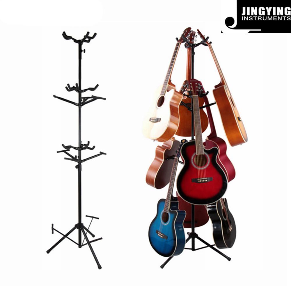 Wholesale Vertical Multi-head Violin&Ukulele&Guitar Display Rack 1