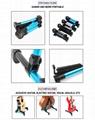 Wholesale Aluminum Alloy Material Vertical Folding Guitar Stands 7