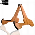 Wholesale A Type Folding Bamboo Guitar&Ukulele Stands