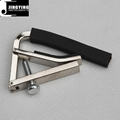 Wholesale Adjustable capo and strings between efforts,Metal Guitar Capo 1