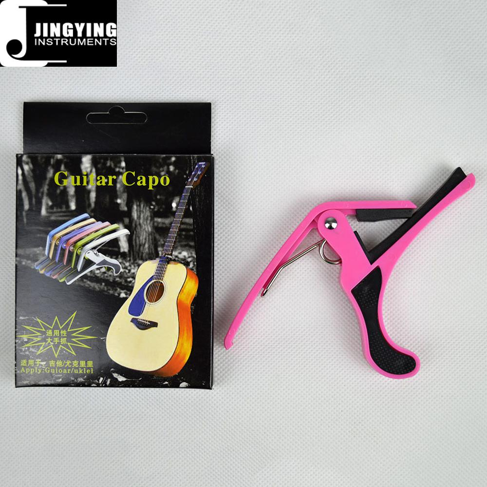 Wholesale China Supplier Factory Price ABS Guitar Capo,Ukulele Capo 9