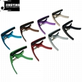 Wholesale Aluminum Alloy Material Multi-color Ukulele Special Capo