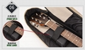 Wholesale 41 Inches 600D Oxford Cloth 10mm Sponge Acoustic Guitar Bags,Do OEM