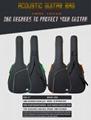 Wholesale 41 Inches Advanced 600D Oxford Cloth 10mm Sponge Acoustic Guitar Bags 6