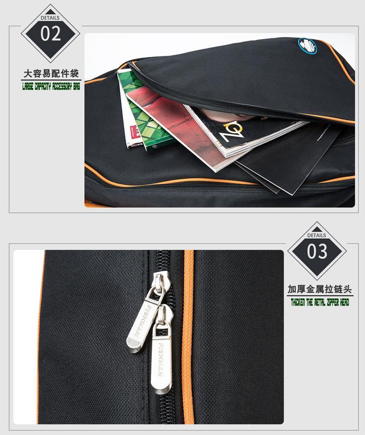 Wholesale 41 Inches Advanced 600D Oxford Cloth 10mm Sponge Acoustic Guitar Bags 9