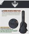 Wholesale 600D Oxford Cloth 8mm Sponge Two Shoulders Electric Guitar Bags 8