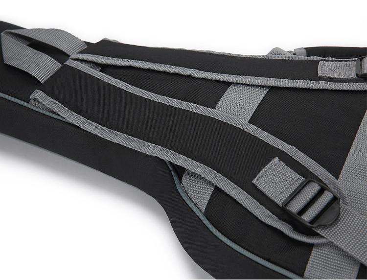 Wholesale 600D Oxford Cloth 10mm Sponge Two Shoulders Electric Guitar Bags 12