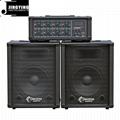 Wholesale 100W/150W/200W/400W Powered Mixer 3