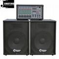 Wholesale 100W/150W/200W/400W Powered Mixer 4