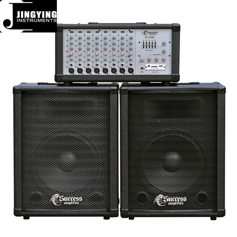 Wholesale 100W/150W/200W/400W Powered Mixer 2